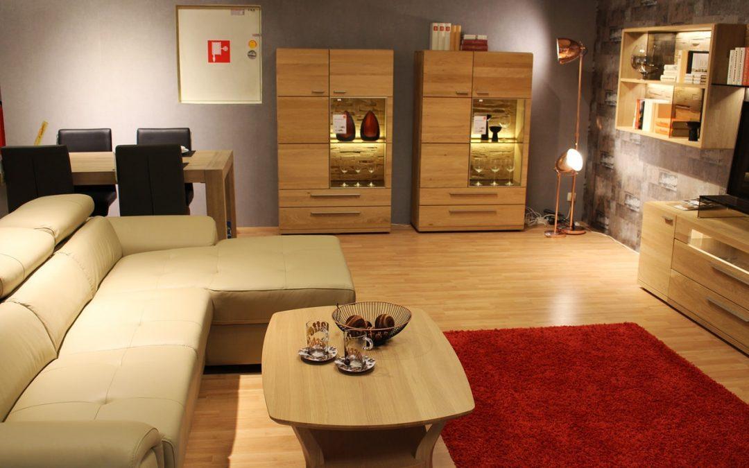 Inred hemmet med förvaringsmöbler